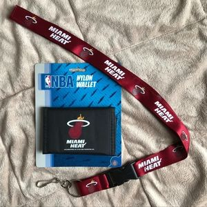 NEW! Miami Heat Wallet & Lanyard!